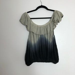 Free People Tops - Free People | Cora Lee Ombre Flounce Top sz S